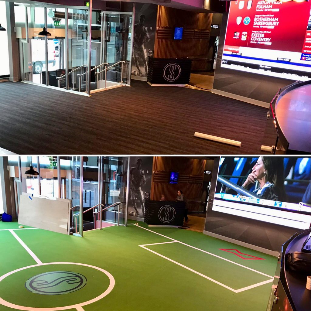 Before & After - Genting Sports Bar